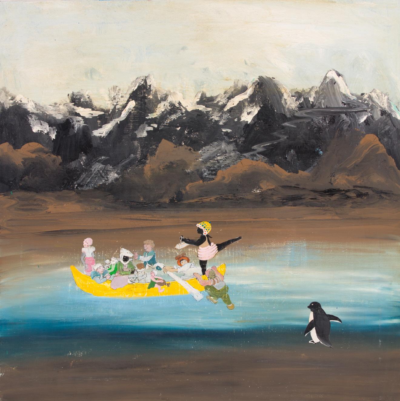 윤정원, 정령의 노래, 80x80cm, Acrylic on canvas, 2020.jpg